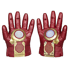 Buy Avengers Age of Ultron Iron Man Arc FX Armour Gloves Online at johnlewis.com