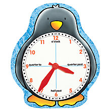 Buy Orchard Toys Penguin Educational Clock Face Online at johnlewis.com