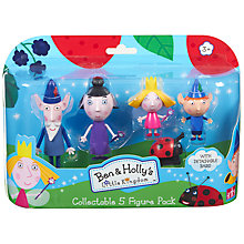 Buy Ben & Holly's Little Kingdom Collectable 5 Figure Pack Online at johnlewis.com