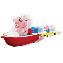 Buy Peppa Pig Holiday Speed Boat Online at johnlewis.com