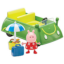 Buy Peppa Pig Holiday Sunshine Car Online at johnlewis.com