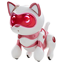 Buy Teksta Robotic Newborn Kitty Online at johnlewis.com