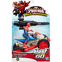 Buy Ultimate Spider-Man Web Warriors Blast N Go, Assorted Online at johnlewis.com