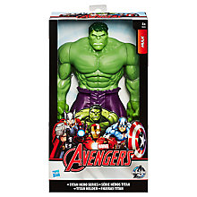 Buy Marvel Avengers Assemble Titan Hero Series Hulk Figure Online at johnlewis.com