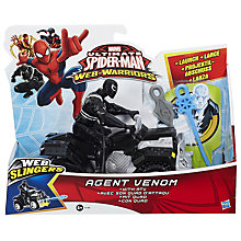 Buy Marvel Ultimate Web Warriors Web Slingers Figure, Assorted Online at johnlewis.com