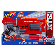 Buy NERF N-Strike Elite Mega CycloneShock Blaster Online at johnlewis.com