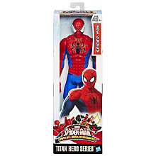 Buy Ultimate Spider-Man Titan Hero Series Spider-Man Figure Online at johnlewis.com