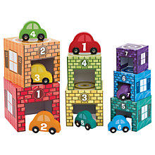 Buy Melissa & Doug Nesting Garage & Cars Online at johnlewis.com