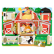 Buy Melissa & Doug Farm Hide & Seek Board Online at johnlewis.com