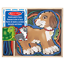 Buy Melissa & Doug Lace & Trace Pets Online at johnlewis.com