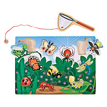 Buy Melissa & Doug Bug-Catching Magnetic Puzzle Game Online at johnlewis.com