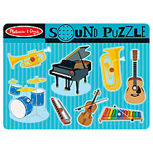Buy Melissa & Doug Musical Instruments Sound Puzzle Online at johnlewis.com