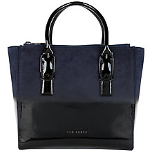 Buy Ted Baker Brea Ombre Leather Shopper Bag Online at johnlewis.com