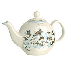 Buy Radley China Cherry Blossm Dog Teapot, Blue Online at johnlewis.com