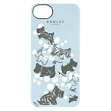Buy Radley Cherry Blossm Dog Print iPhone Case, Blue Online at johnlewis.com