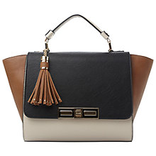 Buy Dune Damzine Enamel Lock Colour Block Winged Bag Online at johnlewis.com