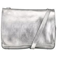 Buy Collection WEEKEND by John Lewis Malvin Leather Shoulder Bag Online at johnlewis.com