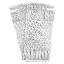 Buy Hygge by Mint Velvet Hand Warmers Mittens, Mint Green Online at johnlewis.com