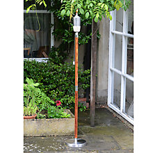 Buy Foras Mira Outdoor Burner, Teak Online at johnlewis.com