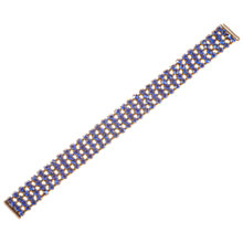 Buy Alice Joseph Vintage Four Strand Diamante Bracelet, Blue Online at johnlewis.com