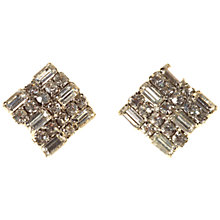 Buy Alice Joseph Vintage 1980s Weiss Diamante Earrings, White Online at johnlewis.com