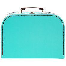 Buy RJB Stone Turquoise Suitcase, Medium Online at johnlewis.com