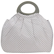 Buy John Lewis Spot Big Bag, Grey Online at johnlewis.com