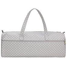 Buy John Lewis Spot Long Knit Bag, Grey Online at johnlewis.com