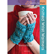 Buy Knitted Wrist Warmers by Monica Russel Book Online at johnlewis.com