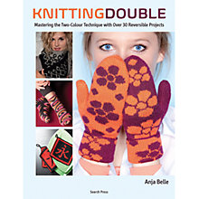 Buy Knitting Double by Anja Bell Book Online at johnlewis.com
