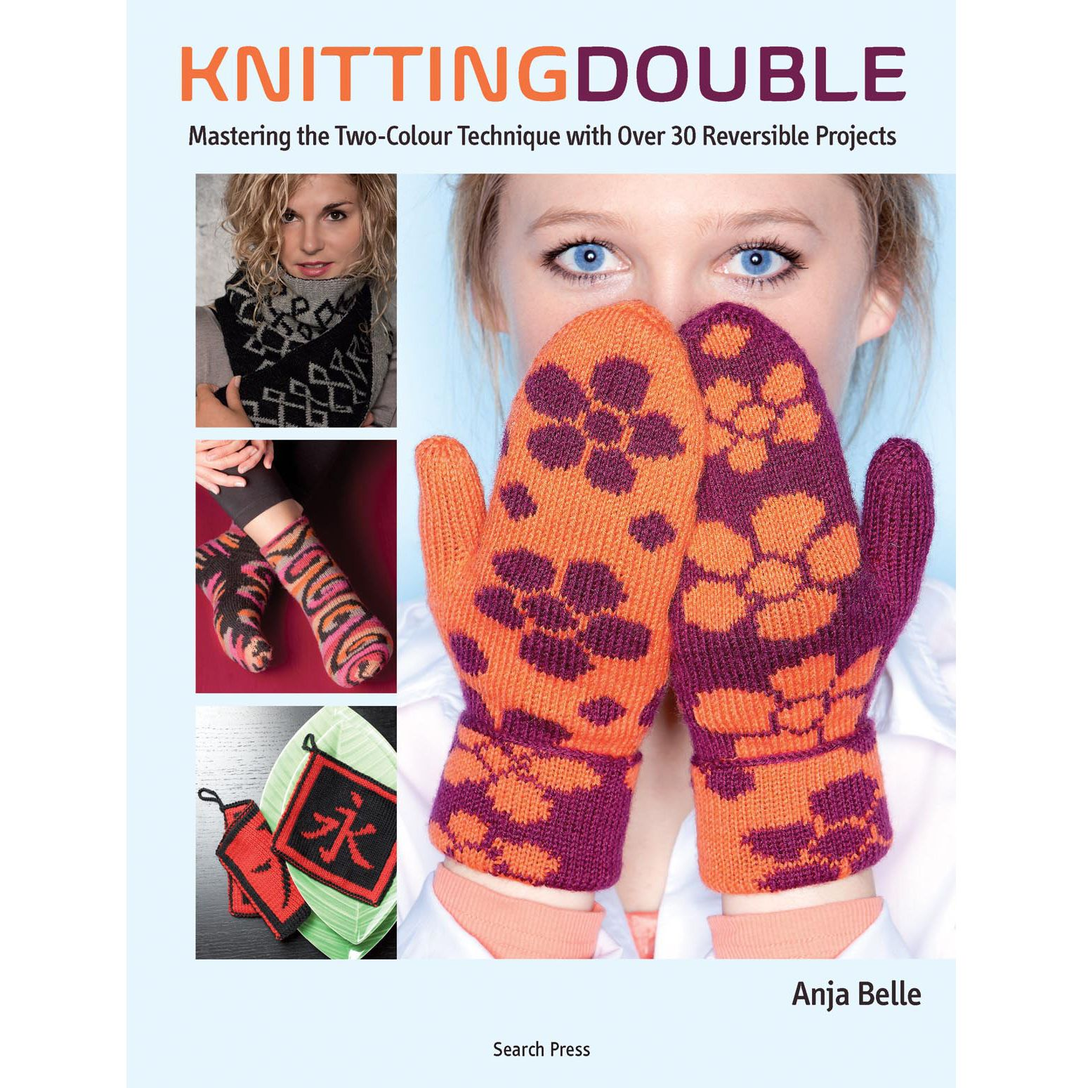 Search Press Knitting Double by Anja Bell Book
