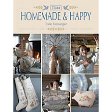 Buy Tilda Homemade and Happy by Tone Finnanger Book Online at johnlewis.com