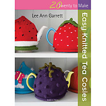 Buy Easy Knitted Tea Cosies by Lee Ann Garrett Book Online at johnlewis.com