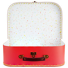 Buy RJB Stone Red Suitcase, Large Online at johnlewis.com