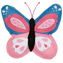 Buy John Lewis Butterfly Pin Cushion, Blue Online at johnlewis.com