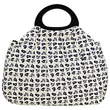 Buy John Lewis Monochrome Poppy Big Bag, Black/Cream Online at johnlewis.com