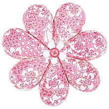 Buy John Lewis Carriages Flower Pin Cushion, Pink Online at johnlewis.com