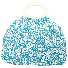 Buy John Lewis Daisy Chain Big Bag, Teal Online at johnlewis.com