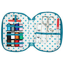 Buy John Lewis Carriages Zipped Sewing Kit Online at johnlewis.com