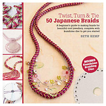 Buy Twist, Turn & Tie: 50 Japanese Braids Online at johnlewis.com