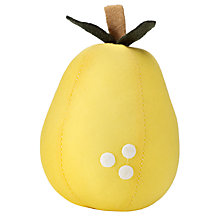 Buy John Lewis Pear Pin Cushion, Green Online at johnlewis.com