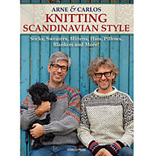 Buy Arne & Carlos: Knitting Scandinavian Style Online at johnlewis.com