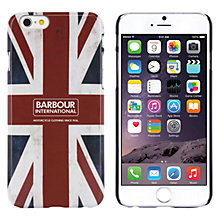 Buy Barbour International Hard Shell Union Jack Case for iPhone 6 Online at johnlewis.com