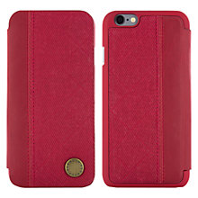 Buy Barbour Quilted Folio Case for iPhone 6, Red Online at johnlewis.com