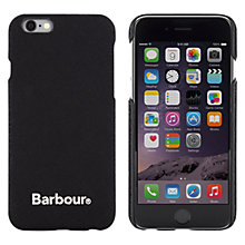 Buy Barbour Wrapped Hard Shell Case for iPhone 6 Online at johnlewis.com