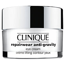 Buy Clinique Repairwear Anti-Gravity Eye Cream, 15ml Online at johnlewis.com