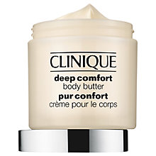 Buy Clinique Deep Comfort Body Butter, 350ml Online at johnlewis.com