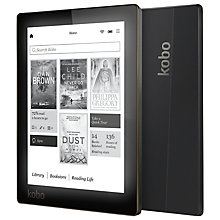 "Buy Kobo Aura eReader, 6"" Illuminated Touch Screen, Wi-Fi Online at johnlewis.com"