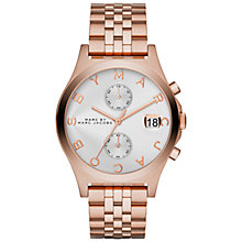 Buy Marc by Marc Jacobs MBM3381 Women's The Slim Chronograph Bracelet Watch Online at johnlewis.com
