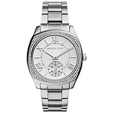 Buy Michael Kors Women's Bryn Stainless Steel Bracelet Watch Online at johnlewis.com